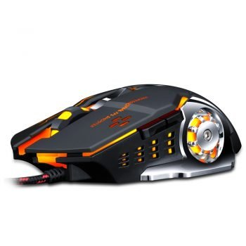 Pro Gamer Gaming Mouse 8D 3200DPI Adjustable Wired Optical LED Computer Mice USB Cable Silent Mouse for laptop PC