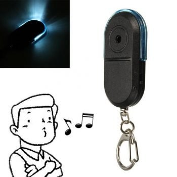 Wireless Anti-Lost Alarm Key Finder Locator Keychain Whistle Sound LED Light Things Tracker Anti-Lost Device for The Elderly Hot