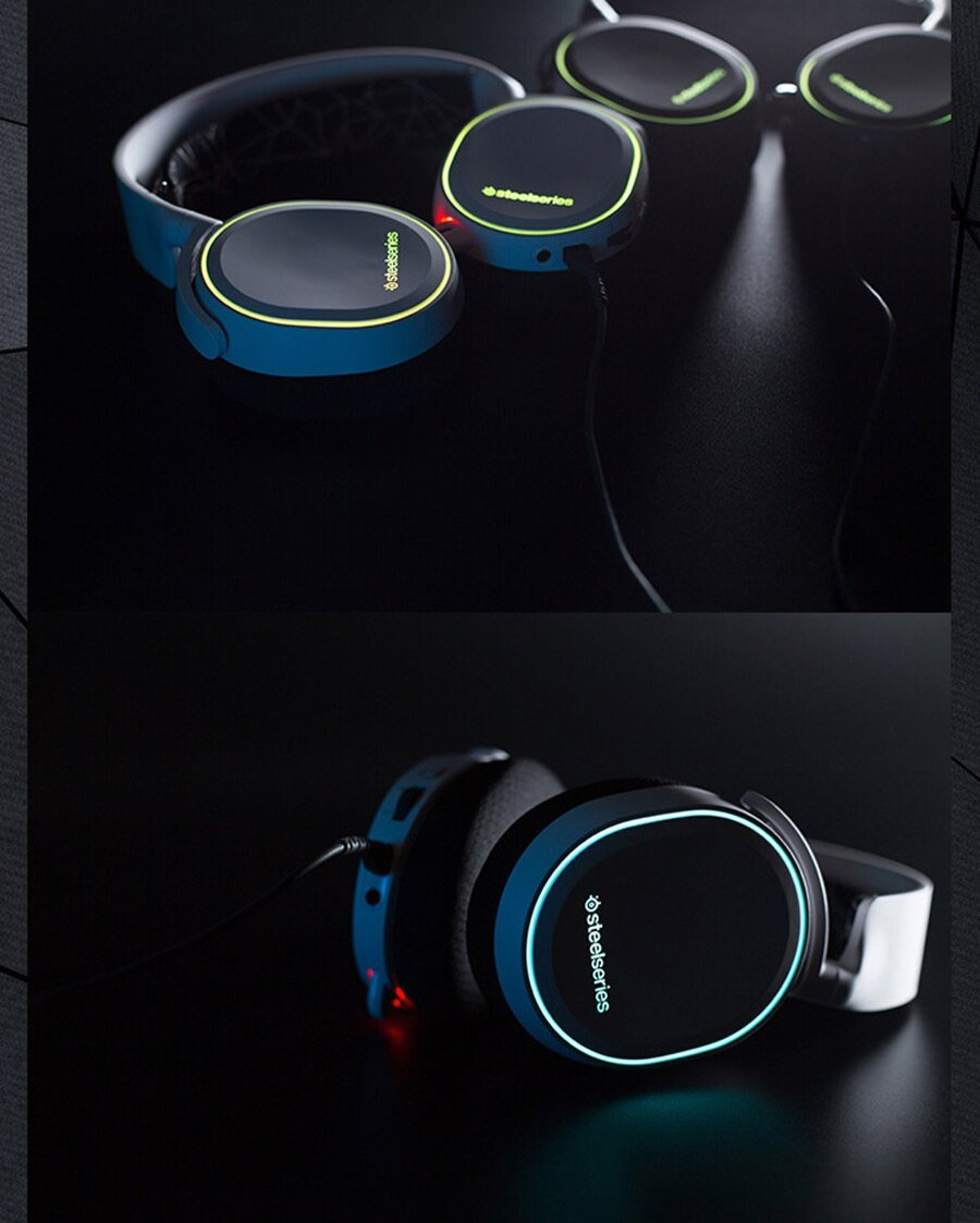 Free shipping 2019 Edition SteelSeries Arctis 5 DTSXV2.0 RGB Headphones 7.1 Channel Jedi Survival Apex Heroes CF