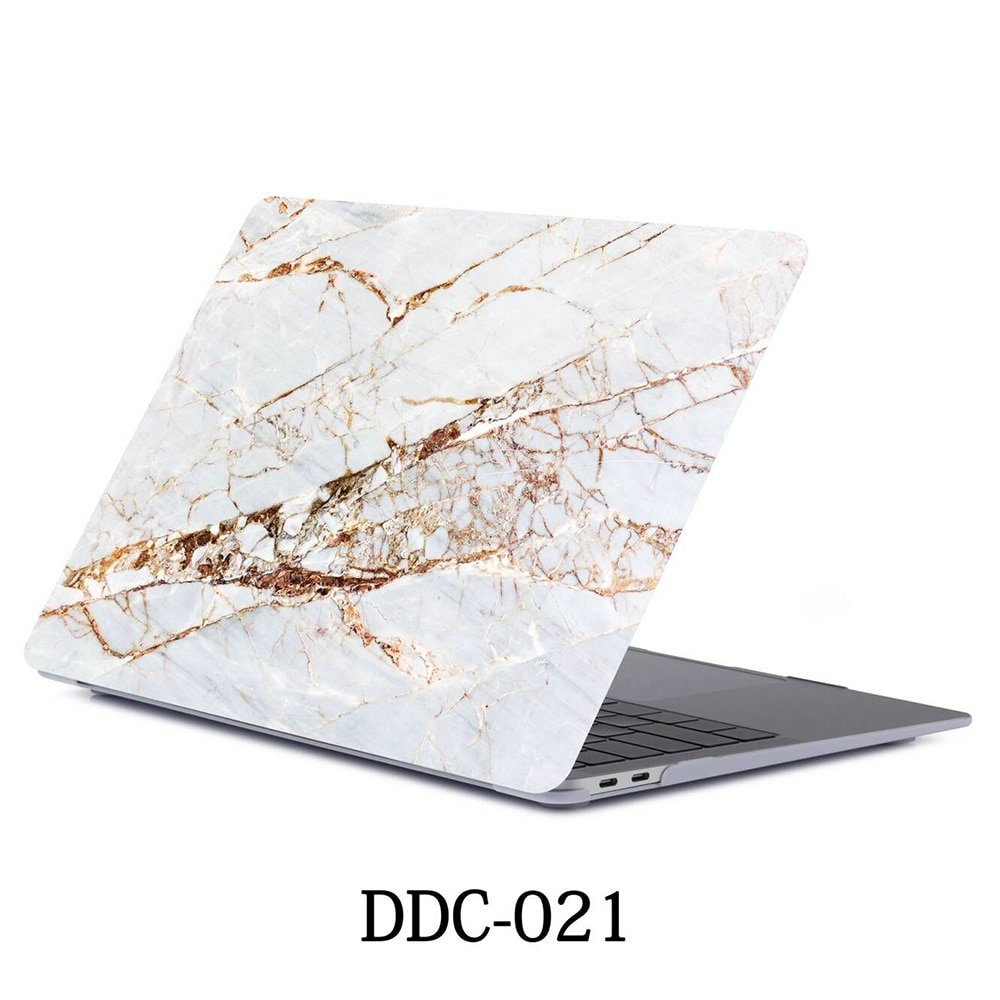 Marble Laptop Case For APPle MacBook Pro Air Retina 11 12 13 15 Mac Book 15.4 13.3 Inch Touch Bar Shell Sleeve + Keypad Cover