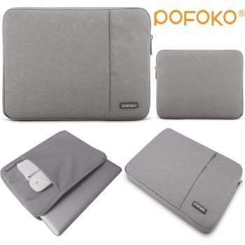 POFOKO Waterproof and anti fall laptop sleeve bag case cover pouch skins For Apple Macbook Pro Air 13.3 MC white 11 12 13 15 17