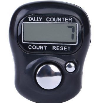 CARPRIE Digit Digital LCD Electronic Golf Finger Hand Ring Knitting Row Tally Counter TALLY Pedometer Random Color