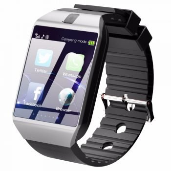 Cawono Bluetooth Relogio Smart Watch DZ09 Smartwatch Anti-lost SIM TF Card Wearable Devices with Camera for Apple Android VS Y1