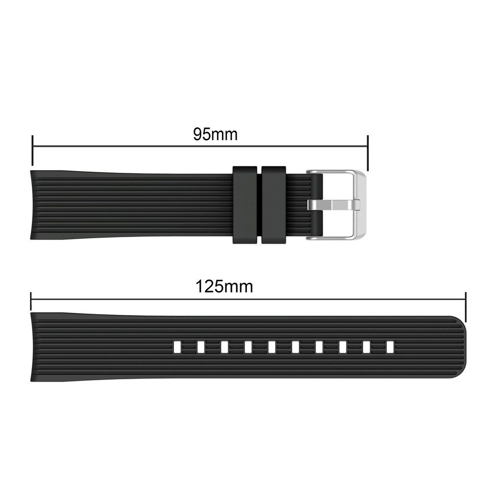 Wearable Devices Soft Silicone Watch Band Replacement Band Strap For Samsung Galaxy Watch 42mm Accessories Sep14