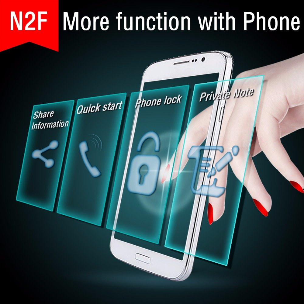 JAKCOM N2 Smart Nail New Multifunction Product Of Intelligent Accessories No Charge Required New NFC Smart Wearable Gadget
