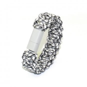 Fast Wire Data Cable Portable Fashion Wearable Phone Accessories Travel Braided Bracelet Outdoor USB Charging Type C For HUAWEI