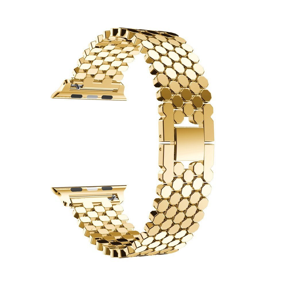 Strap For Apple Watch band 38mm 42mm iWatch 4 5 band 44mm 40mm colorful fullmetal belt Bracelet Apple watch 4 3 2 1 Accessories