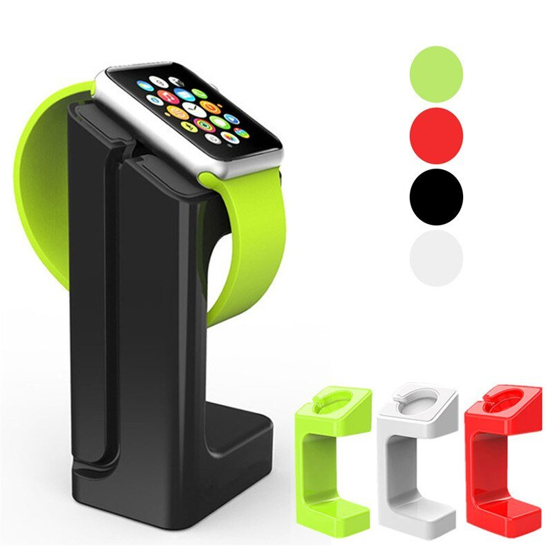 Charge For apple watch stand Apple Watch 5 4 3 2 1 iWatch 42mm 38mm 44mm 40mm smart watch accessories station holder black white