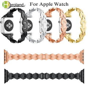 Alloy Steel Bracelet for apple watch 5 band for i watch band series 1/2/3 /4/5 40mm 44mm 42mm 38mm strap smart accessories new