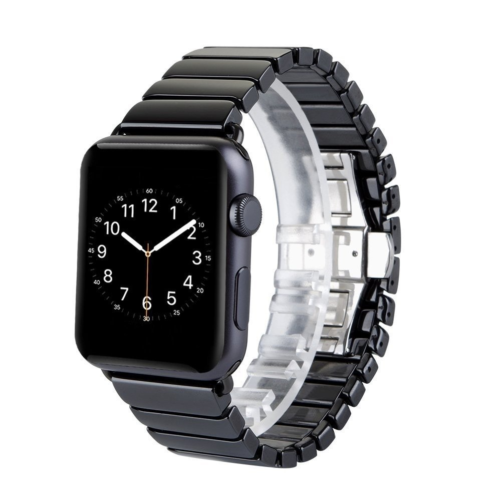 Fashion Ceramic Bracelet Watchband For Apple Watch Band 44/40/42/38mm Smart Watch Strap Accessories For iWatch Series 5 4 3 2 1