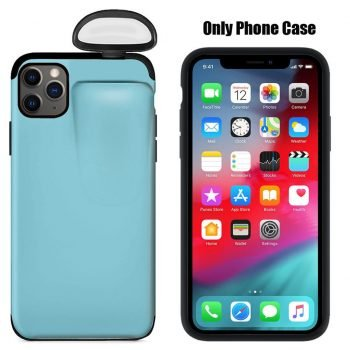 2-in-1 Mobile iPhone Cases With Built In Wireless Headset Case For AirPods