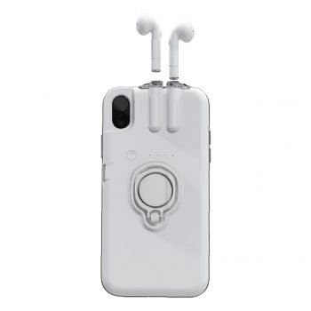 Wireless Chargeable iPhone Case Plus Built In Case For Airpods With Car Holder